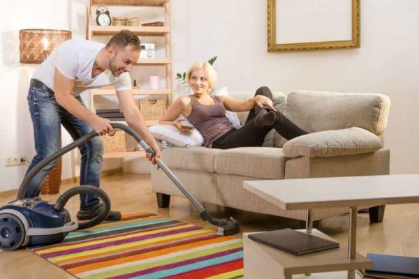 How often should I vacuum the house?