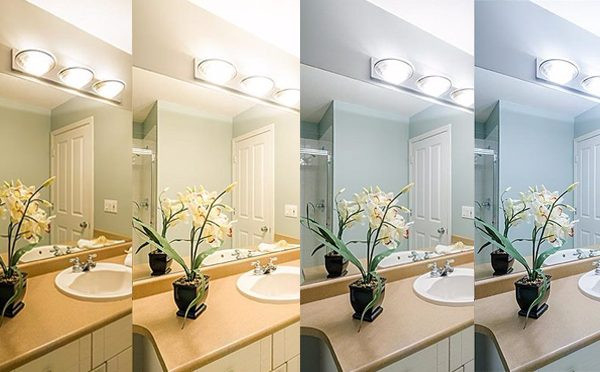 How to choose the color of the bulbs ?